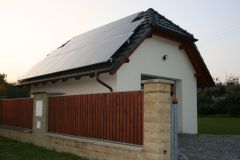 PV-plant 3,2 kWp on garage roof