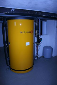 Accumulation tank PAST from Techtrans company